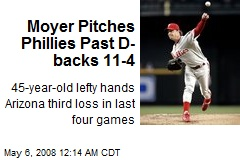 Moyer Pitches Phillies Past D-backs 11-4