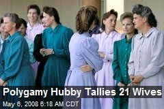 Polygamy Hubby Tallies 21 Wives