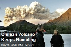 Chilean Volcano Keeps Rumbling
