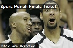 Spurs Punch Finals Ticket