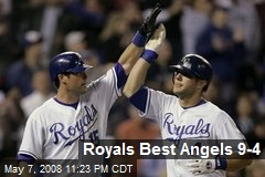 Royals Best Angels 9-4