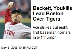 Beckett, Youkilis Lead Boston Over Tigers