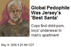 Global Pedophile Was Jersey's 'Best Santa'