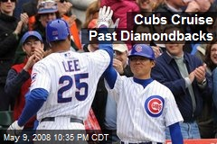 Cubs Cruise Past Diamondbacks