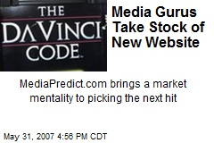 Media Gurus Take Stock of New Website