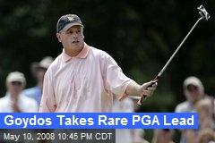 Goydos Takes Rare PGA Lead