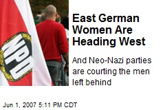 East German Women Are Heading West
