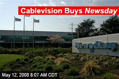 Cablevision Buys Newsday