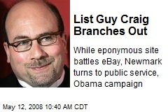 List Guy Craig Branches Out