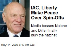 IAC, Liberty Make Peace Over Spin-Offs