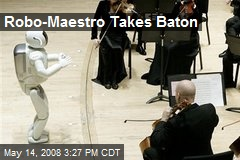 Robo-Maestro Takes Baton