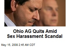 Ohio AG Quits Amid Sex Harassment Scandal