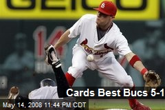 Cards Best Bucs 5-1