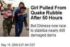 Girl Pulled From Quake Rubble After 50 Hours