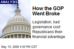 How the GOP Went Broke