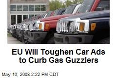 EU Will Toughen Car Ads to Curb Gas Guzzlers
