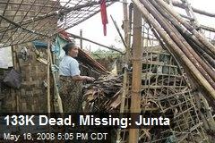 133K Dead, Missing: Junta