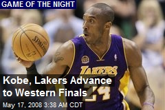 Kobe, Lakers Advance to Western Finals