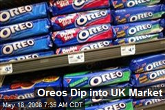 Oreos Dip into UK Market