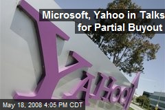 Microsoft, Yahoo in Talks for Partial Buyout