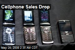 Cellphone Sales Drop