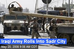 Iraqi Army Rolls Into Sadr City