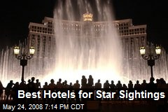 Best Hotels for Star Sightings