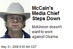 McCain's Media Chief Steps Down