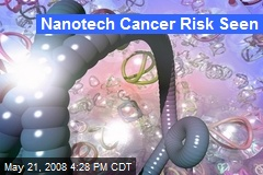 Nanotech Cancer Risk Seen