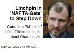 Linchpin in 'NAFTA-Gate' to Step Down