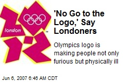 'No Go to the Logo,' Say Londoners