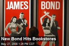 New Bond Hits Bookstores