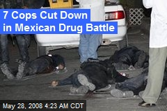 7 Cops Cut Down in Mexican Drug Battle