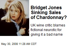 Bridget Jones Sinking Sales of Chardonnay?
