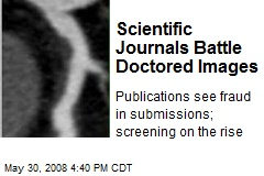 Scientific Journals Battle Doctored Images