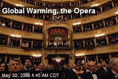 Global Warming, the Opera
