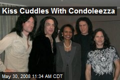 Kiss Cuddles With Condoleezza