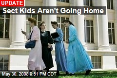 Sect Kids Aren't Going Home