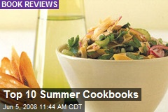 Top 10 Summer Cookbooks