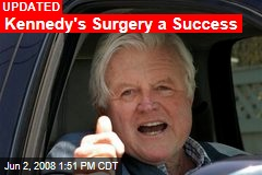 Kennedy's Surgery a Success