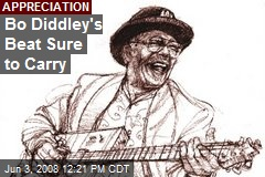 Bo Diddley's Beat Sure to Carry