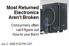 Most Returned Electronics Aren't Broken