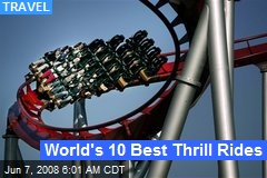 World's 10 Best Thrill Rides
