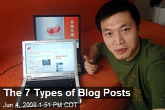 The 7 Types of Blog Posts
