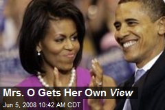 Mrs. O Gets Her Own View