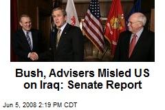 Bush, Advisers Misled US on Iraq: Senate Report