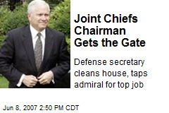 Joint Chiefs Chairman Gets the Gate