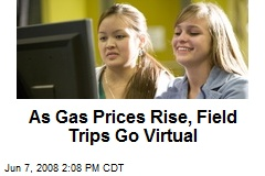As Gas Prices Rise, Field Trips Go Virtual