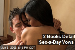 2 Books Detail Sex-a-Day Vows