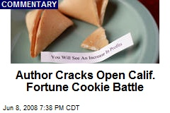 Author Cracks Open Calif. Fortune Cookie Battle